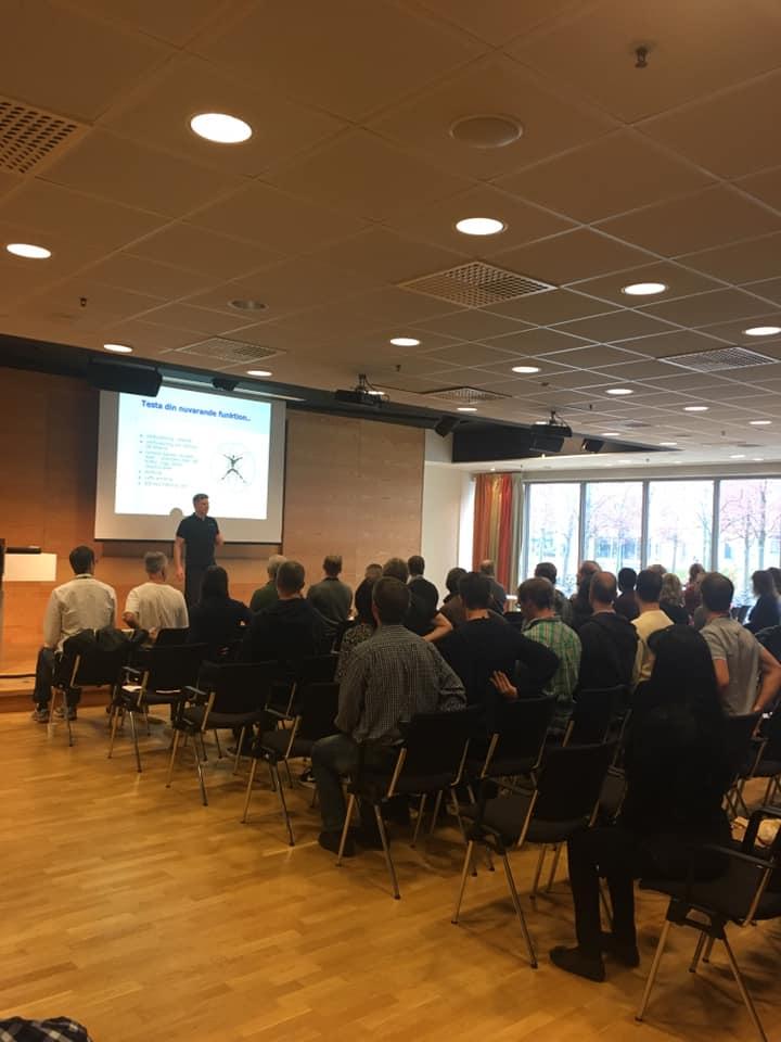 Föreläsning Ericsson & Nordic Wellness Exclusive